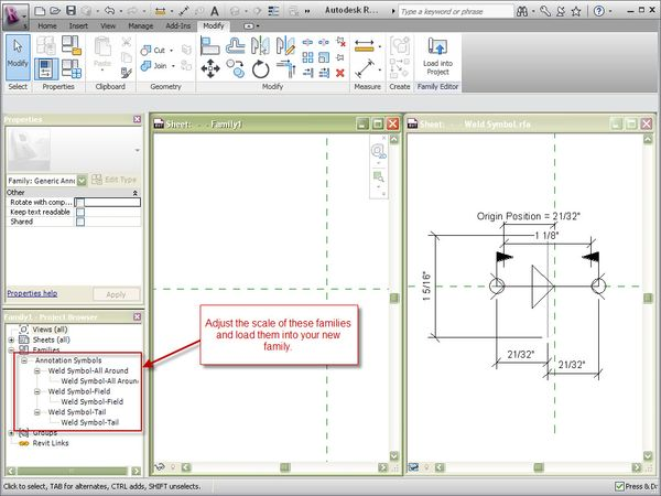 Adjusting The Scale Of A Weld Symbol The Revit Clinic