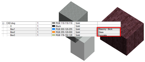 Overriding Materials for Linked or Imported Files in the Host Revit