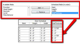 Example Uses for Doors and Reporting Parameters - The Revit