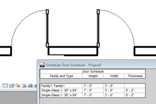 DoorFamilySchedule  sc 1 st  The Revit Clinic & Revit Quiz: Why does my Door Family with 2 Nested Doors appear as 3 ...